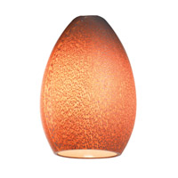 Safari Silver Amber Glass Shade