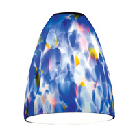 Access 941RJ-BLU Fire _ Glass-Shade  in Blue photo thumbnail