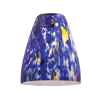 Access Lighting Fire Cone Glass Shade 944RJ-BLU