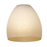 Access Lighting French Amber Glass Shade 958ST-FRA photo thumbnail