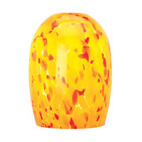 Waterway _ Glass Shade in Amber