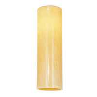 Access 966RJ-AMM Rain _ Glass Shade in Amber Marble, Large Cylinder