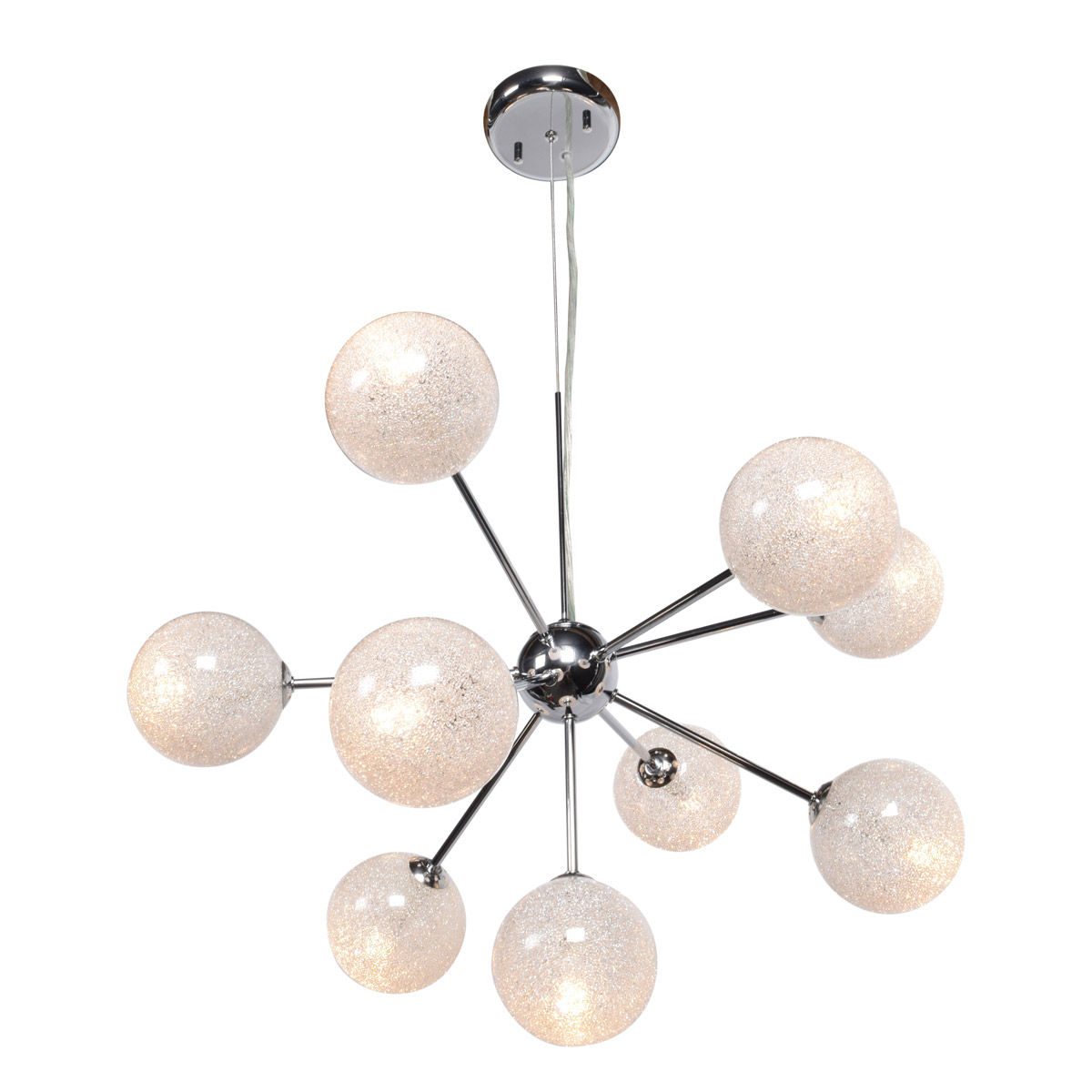 Opulence 10 Light 23 inch Chrome Chandelier Access lighting Ceiling Light