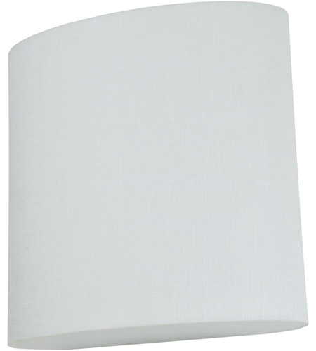 AFX ANS108700L30UD-LW Anton LED 9 inch Sconce Wall Light in Linen White photo