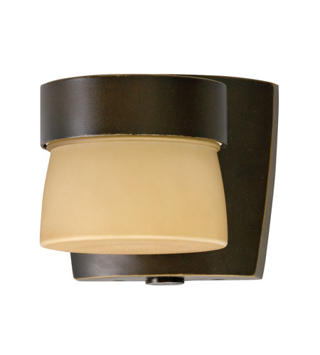 AFX Lighting Aria 1 Light Mini Outdoor Sconce in Oil-rubbed Bronze ARMW1F13RBECT-PC photo
