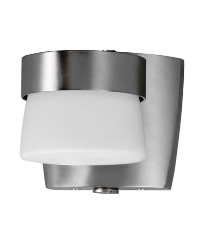 AFX Lighting Aria 1 Light Mini Outdoor Sconce in Satin Nickel ARMW1F13SNECT-PC photo