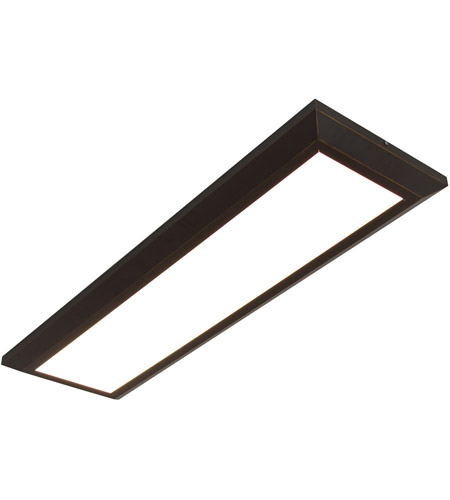 AFX ATL12483200L30D1RB Atlas LED 15 inch Oil-Rubbed Bronze Decorative Flush Linear Ceiling Light photo