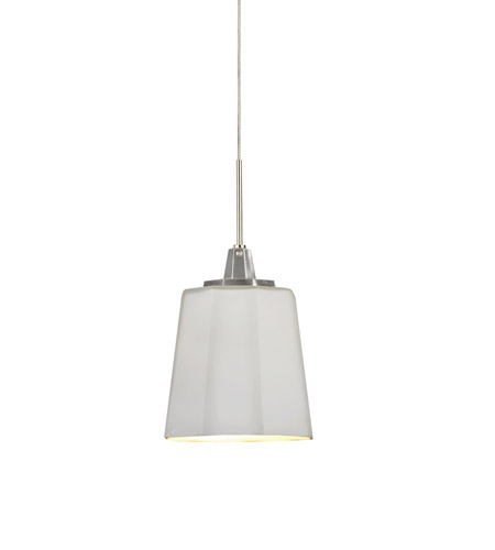 AFX ATP Series 1 Light LED Mini Pendant in Satin Nickel ATPL45040WHSN photo