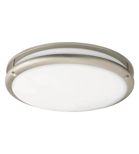 AFX Cashel 1 Light Flush Mount in Satin Nickel CCF121200L30D1SN photo