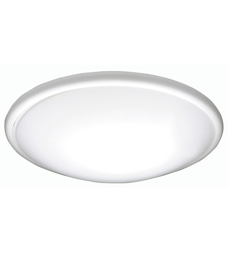 AFX Euro Style Saucer 1 Light Flush Mount in White CF2022ET photo