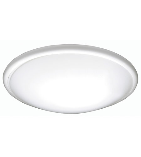 AFX Euro Style Saucer 1 Light Flush Mount in White CF2032ET photo