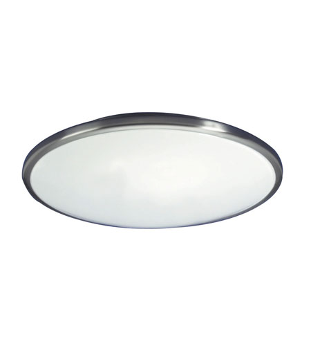 AFX Lighting Euro Style Saucer 2 Light Ceiling Flush Mount in Brushed Nickel CF2072BNET photo
