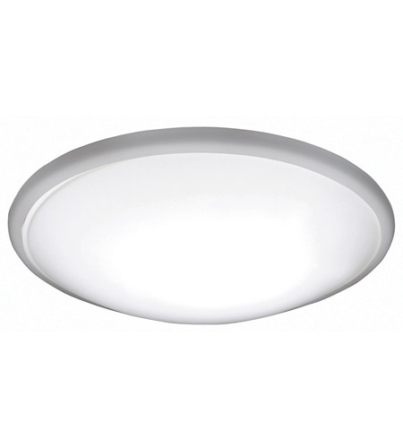 Charming AFX CFF193100L27D1BN Capri 1 Light 19 Inch Brushed Nickel Flush Mount  Ceiling Light