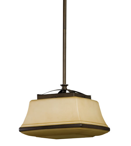 AFX Lighting Chesterfield Pendant in Oil-rubbed Bronze CHP126RBSCT photo