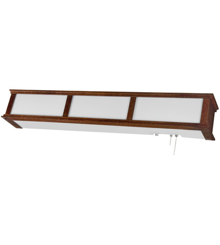 AFX Cameron 3 Light Headboard Wall Mount in Cherry wood CMB325CHE8 photo