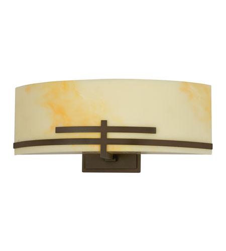 AFX CRS213RBECT Carson 2 Light 4 inch Oil-rubbed Bronze Sconce Wall Light  photo
