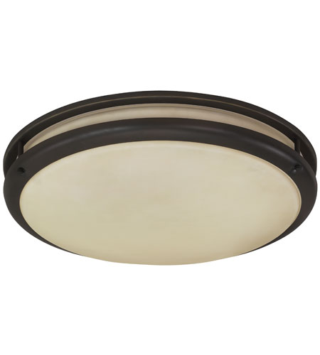 AFX CSC22RBT Contemporary 1 Light 13 inch Oil-rubbed Bronze Round Flush Mount Ceiling Light photo