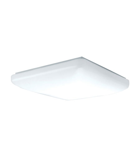 AFX Low Profile Soft Edged Square 1 Light Flush Mount in White CSS2022ET photo