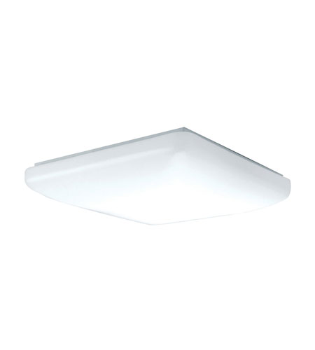AFX Low Profile Soft Edged Square 1 Light Flush Mount in White CSS2032ET photo