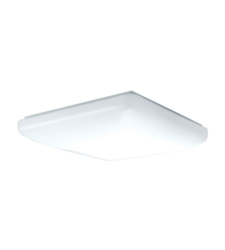 AFX Low Profile Soft Edged Square 2 Light Flush Mount in White CSS2072ET photo
