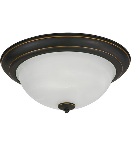 AFX Canterbury 1 Light Flush Mount in Oil Rubbed Bronze CYF11118GU27RB photo