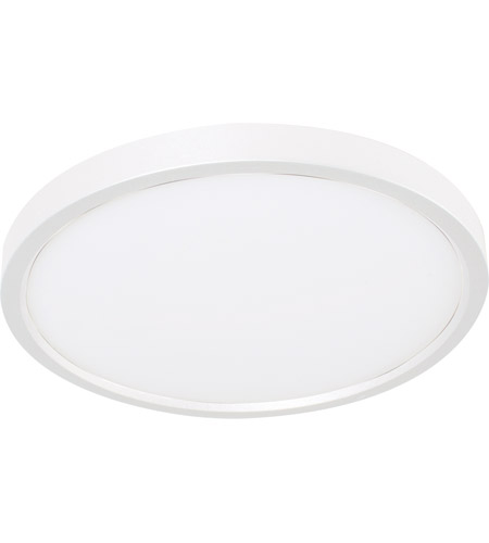 Acrylic Edge Round Flush Mounts
