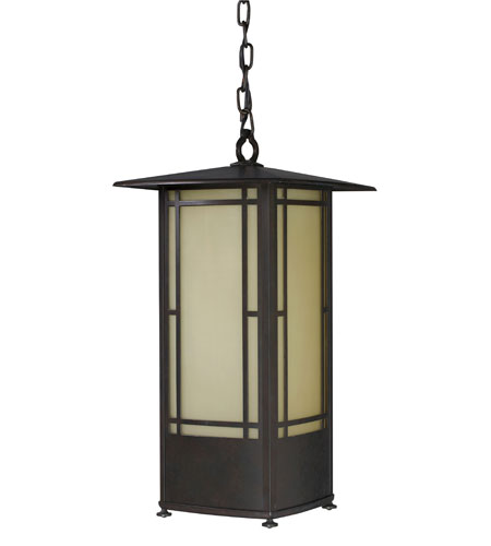 AFX EUWP126MBSCT Eureka 1 Light 10 inch Moss Brown Pendant Ceiling Light photo