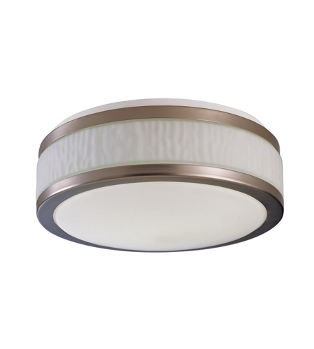 AFX Fusion 2 Light Flush Mount in Satin Nickel FUF16218QMVSN photo