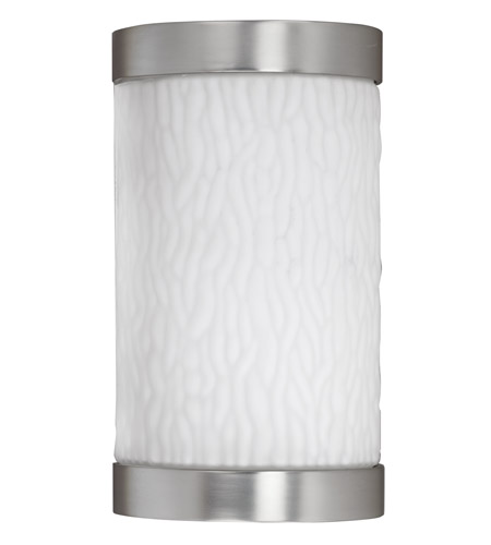 AFX FUW113SNEC-PC Fusion 1 Light 10 inch Satin Nickel Outdoor Sconce in 13 photo