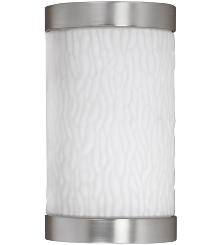 AFX FUW113SNEC Fusion 1 Light 10 inch Satin Nickel Outdoor Sconce in 13 photo