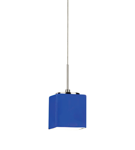 AFX GEP Series 1 Light LED Mini Pendant in Satin Nickel GEPL45040BUSN photo