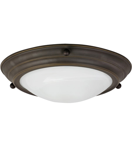 AFX Lighting HF Series 2 Light Flush Mount in Oil-rubbed Bronze HF6213RBSCT photo