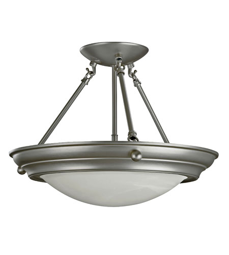 AFX Lighting HS Series 2 Light Semi-Flush in Brushed Nickel HS6213BNSCT photo