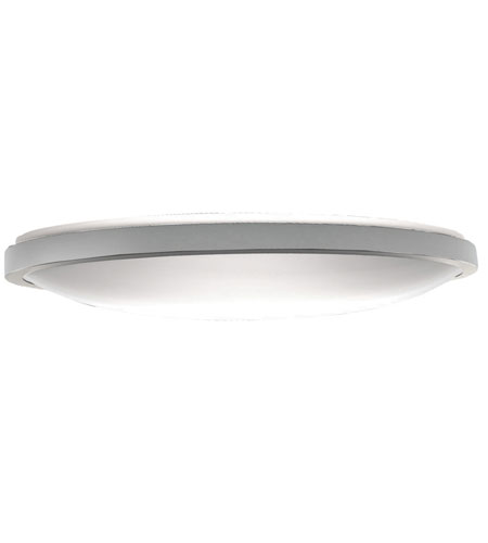 AFX Lighting IDF Series 2 Light Flush Mount in Satin Nickel with White Acrylic Diffuser IDF3232SNEC photo