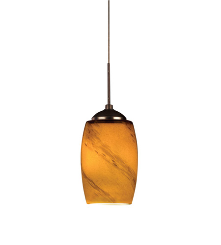 AFX KEP Series 1 Light LED Mini Pendant in Oil-Rubbed Bronze KEPL45027ASRB photo
