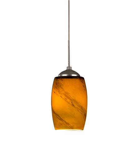 AFX Lighting Kenwood LED Pendant in Satin Nickel KEPLASRB photo