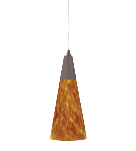 AFX Lighting Eastpoint 1 Light Pendant in Rubbed Bronze LV1EAP13AMRB photo