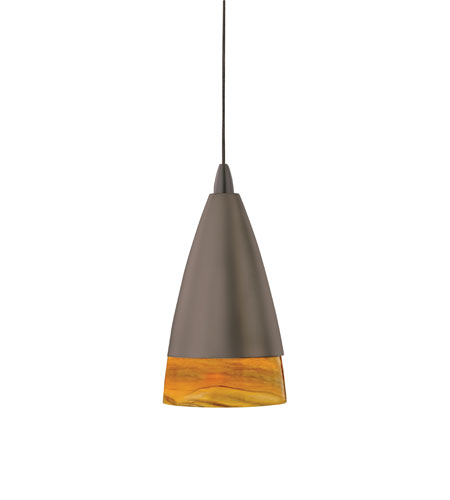 AFX Lighting Hilcrest 1 Light Pendant in Rubbed Bronze LV1HIP13AMRB photo