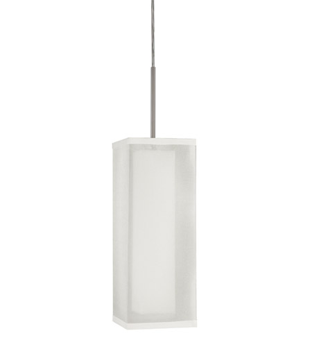 AFX Lux 1 Light Pendant in Satin Nickel LXP118SNSCT-WHWH photo