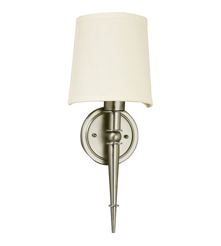 AFX Lighting Montrose Sconce 1 Light Sconce in Satin Nickel MNS118SNEC photo