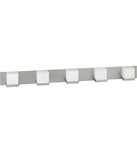 Monroe 5 Light 48 Inch Satin Nickel
