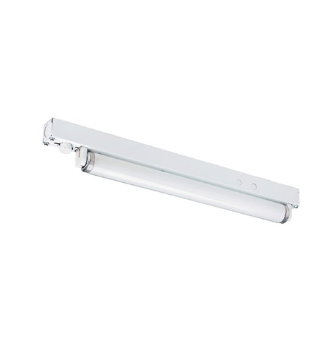 AFX MS115 Miniature 1 Light 1 inch White Miniature Striplight Ceiling Light photo