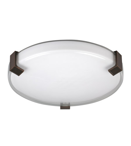AFX Nolan 1 Light Semi-Flush Mount in Oil Rubbed Bronze NLF16155C530MVRB photo