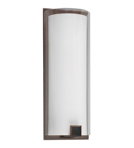 AFX Lighting Nolan 1 Light Sconce in Oil-rubbed Bronze NLS124RBMV photo