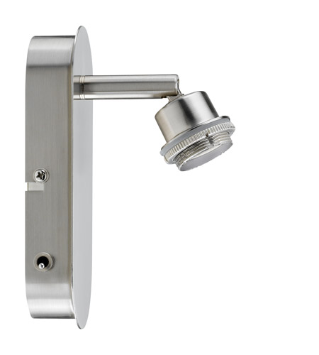 Paulmann by AFX Deco System 1 Light Spotlight in Brushed Nickel PM-60102 photo