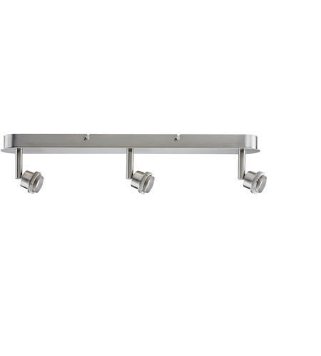 Paulmann by AFX Deco System 3 Light Spotlight in Brushed Nickel PM-60104 photo