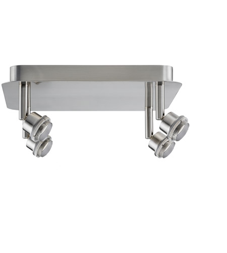 Paulmann by AFX Deco System 4 Light Spotlight in Brushed Nickel PM-60105 photo