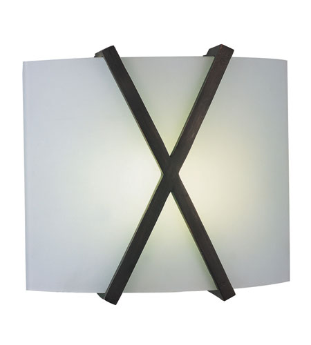 AFX Lighting Restoration 2 Light Sconce in Oil-rubbed Bronze RES213RBMV photo