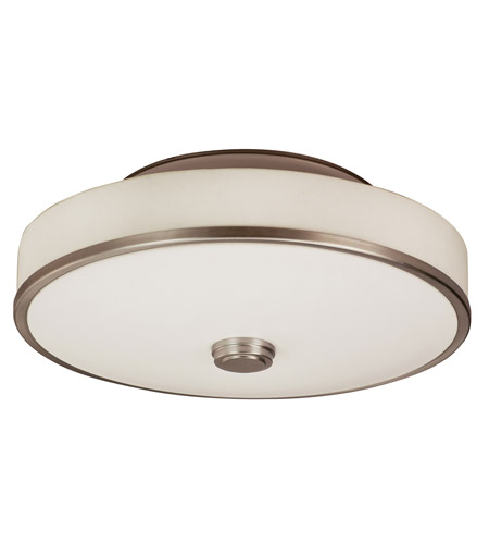 AFX SHC140SNMVT-LA Sheridan 1 Light 16 inch Satin Nickel Semi-Flush Ceiling Light in 40 photo