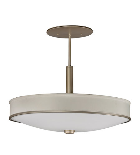 AFX Lighting Sheridan Semi-Flush Mount in Champagne SHP413ACEC photo